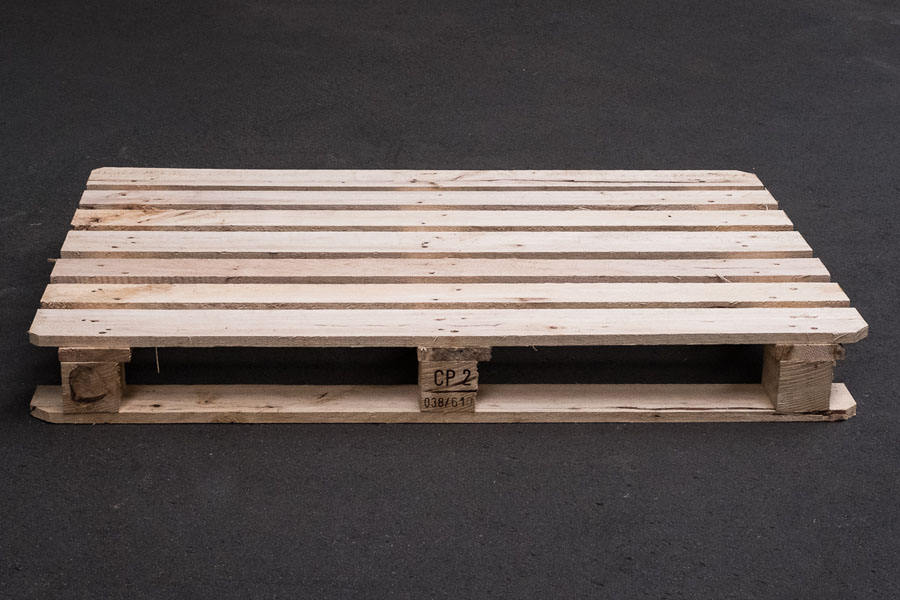 CP-2 Paletten 1200 x 800 x 138 mm, IPPC und trocken