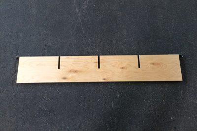 Aufsetzrahmenteiler 9mm Sperrholz längs mit 3 Schlitzen_123