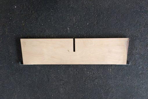 Aufsetzrahmenteiler 9mm-Sperrholz quer mit 1 Schlitz-124