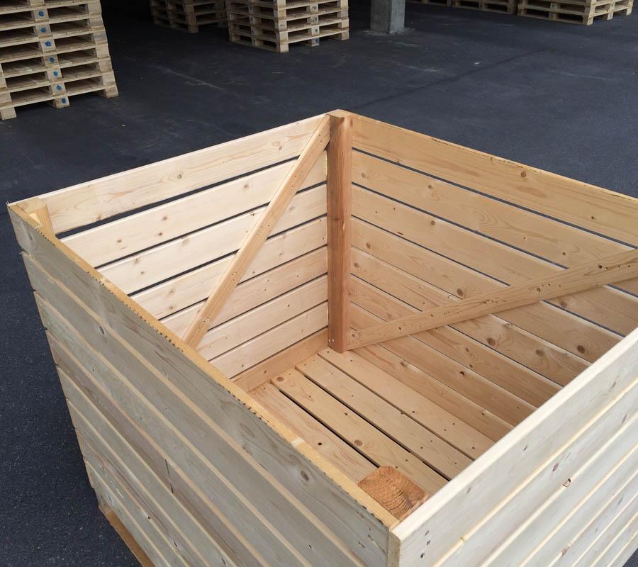 Palette kaufen kleine paletten 2 gr en deko palette oder f r euro epal palette neu schroth - Holzpaletten kaufen obi ...