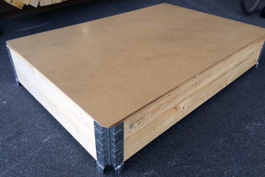 Deckel für Aufsetzrahmen für 1200x800mm aus 6mm MDF-Faserplatte