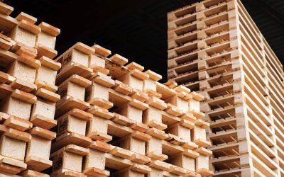 Paletten aus Holz und ihre besonderen Materialeigenschaften
